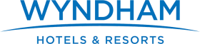 Wyndham Hotel & Resort logo. Book a stay at Wyndham today!